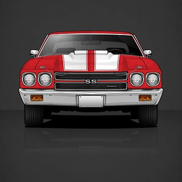 1970 Chevrolet Chevelle SS 454 by m-arts