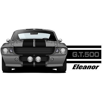 1967 Ford Mustang Shelby GT500 - Eleanor by m-arts