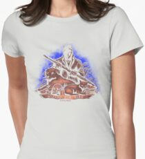 Wizard For Hire Womens Fitted T-Shirt