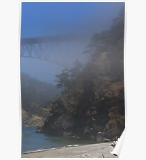 A FOGGY DAY AT DECEPTION PASS Poster