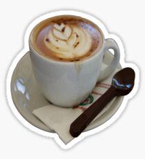 Americano Coffee Vector Sticker