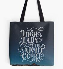 Hohe Dame des Nachtgerichts - Sternenhimmel Tote Bag