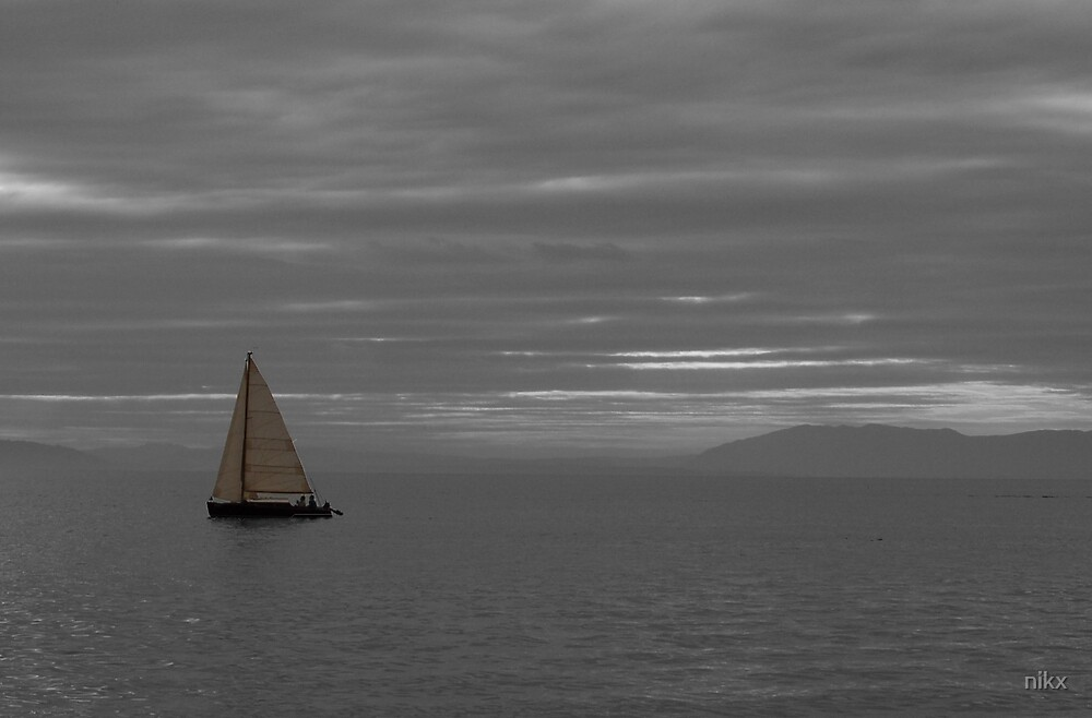 Sailing on lake Geneva by nikx