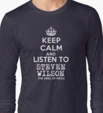 Keep calm and listen to Steven Wilson T-Shirt
