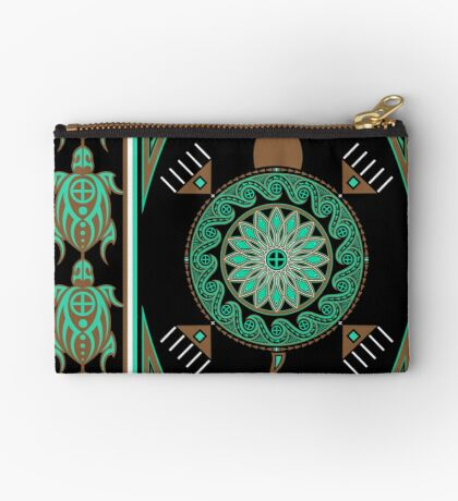 Green Turtle Studio Pouch