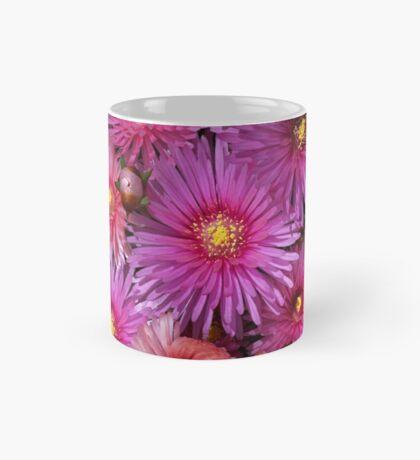 Beautiful Pink Pigface Flowers Mug