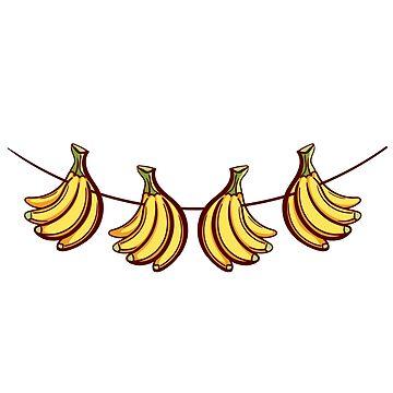 Farmers Market Bananas by Chesnochok