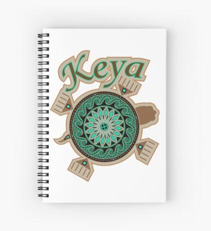 Green Turtle Keya Spiral Notebook