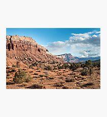 Scenic Drive – Capitol Reef National Park, Utah Photographic Print