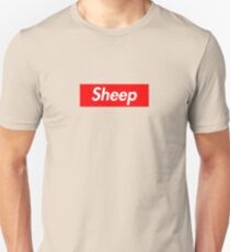 Sheep Logo (Supreme Logo) Unisex T-Shirt