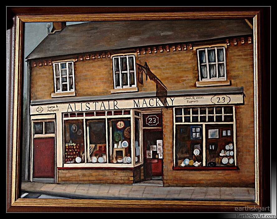 Mackay's Coins and Antiques by earthskyart