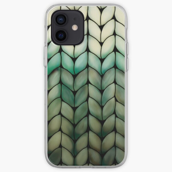 Olive Grove Knit iPhone Soft Case