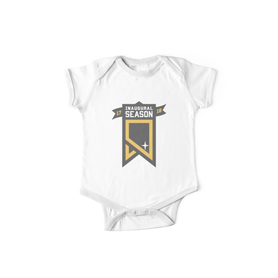 best loved 3697e 5830e 'Vegas Golden Knights Inaugural Season Patch' Kids Clothes by VivaVGK