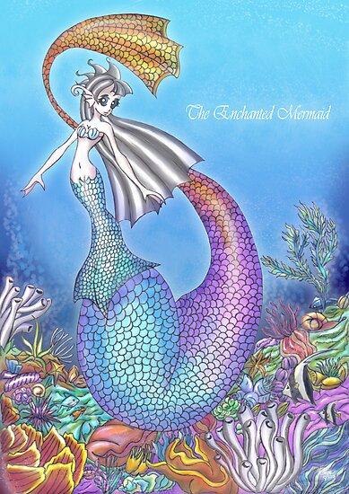 The Enchanted Mermaid by Vestque