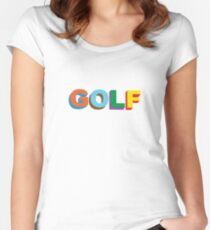 Tyler The Creator GOLF Fitted Scoop T-Shirt