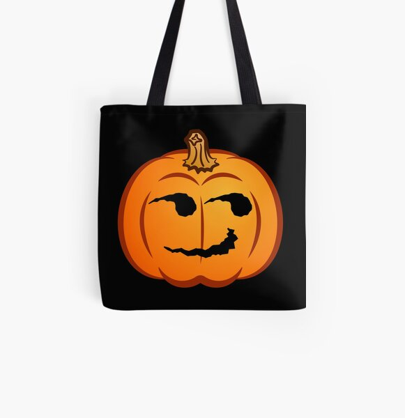 Jack-O-mote :Smirk: All Over Print Tote Bag
