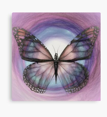 "BUTTERFLY 7 (From ""Butterflies"" collection) Canvas Print"