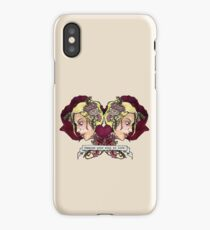 Lyrical Laments: Immerse your soul in love. iPhone Case/Skin