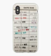 Library Cards iPhone Case