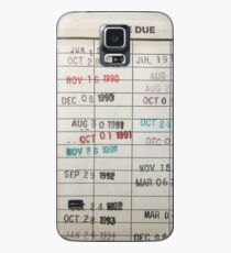 Library Cards Case/Skin for Samsung Galaxy