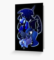 Princess Luna Greeting Card