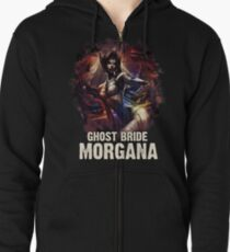League of Legends GHOST BRIDE MORGANA Zipped Hoodie