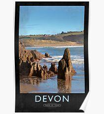 Devon Railway Poster Poster