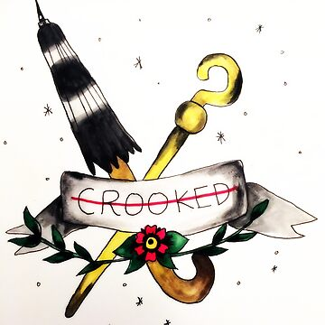 """""""crooked"""" for the criminal in you  by rrandj"""