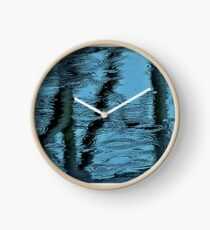 Camouflage by Blue Water Clock