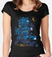 Wizard's Castle Women's Fitted Scoop T-Shirt