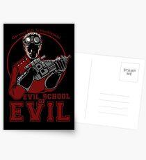 Dr. Horrible's Evil School of Evil CARD Postcards