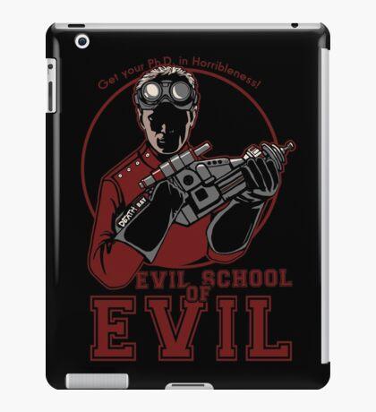 Dr. Horrible's Evil School of Evil iPad Case/Skin