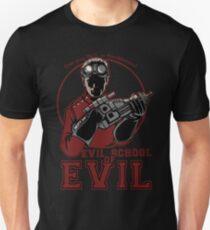 Dr. Horrible's Evil School of Evil Slim Fit T-Shirt