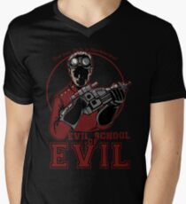Dr. Horrible's Evil School of Evil Men's V-Neck T-Shirt