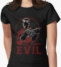 Dr. Horrible's Evil School of Evil Women's Fitted T-Shirt