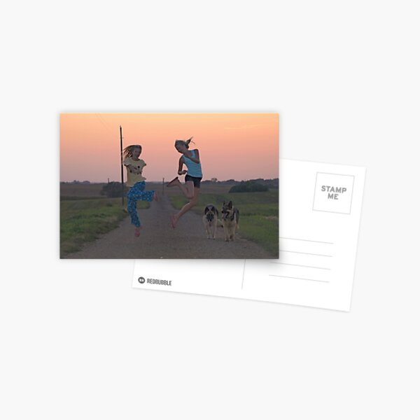 Adolescent Joy Postcard