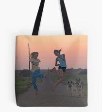 Adolescent Joy Tote Bag