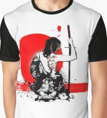 Trash Polka - Female Samurai Graphic T-Shirt