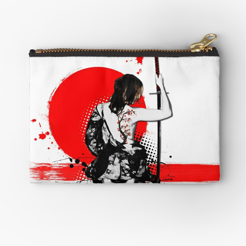 Trash Polka - Female Samurai Zipper Pouch