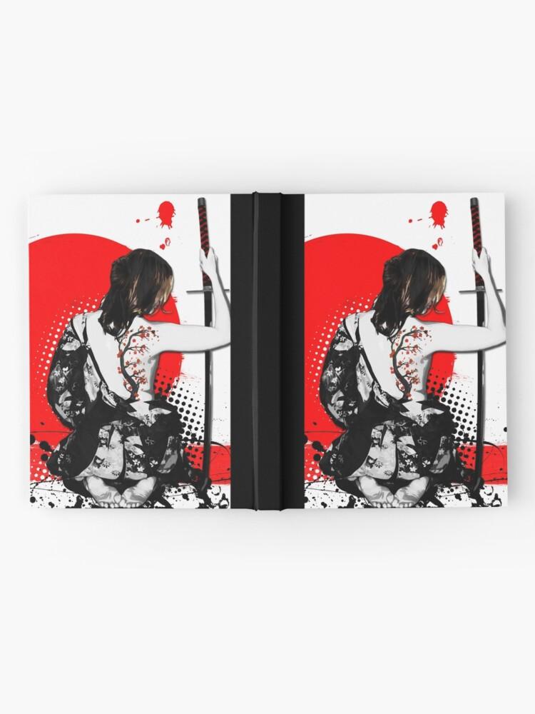 Alternate view of Trash Polka - Female Samurai Hardcover Journal