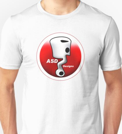 ASD Red and White logo T-Shirt
