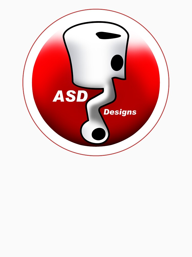ASD Red and White logo by yj8dsk57