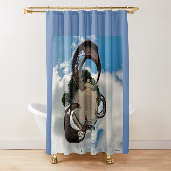 Lifford Coins, County Donegal Shower Curtain