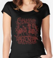 Genuine Band Women's Fitted Scoop T-Shirt