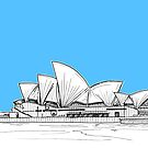 Sydney Opera House by Adam Regester