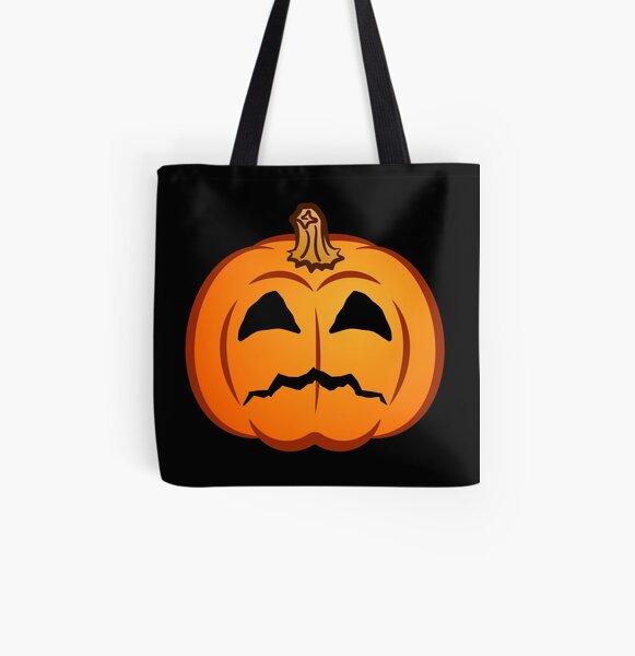 Jack-O-mote :( All Over Print Tote Bag