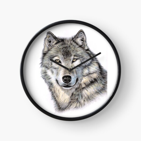 The Siberian Wolf - Der Sibirische Wolf Uhr