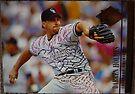 323 - Darren Holmes by Foob's Baseball Cards