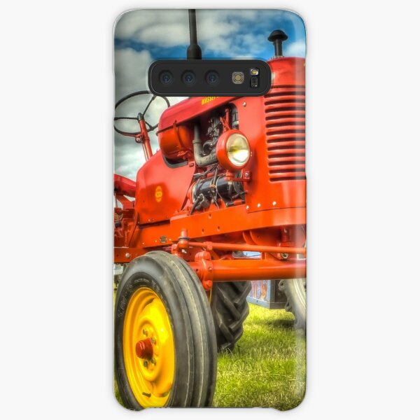 Red Tractor Samsung Galaxy Snap Case