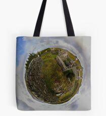 Ruins at Cashelnagor, County Donegal, Ireland Tote Bag